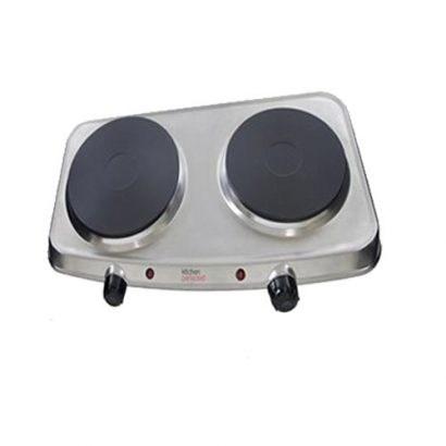 LEEZWORLD 2250W TWIN HUB HOT PLATE