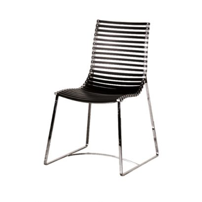 LEEZWORLD ALUMINUM STRIPS CHAIR