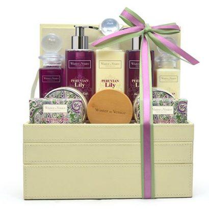 LEEZWORLD Lily Jewellery Stacker Gift Set