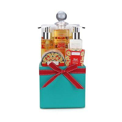 LEEZWORLD Winter in Venice Tissue Box – Bath Gift Set