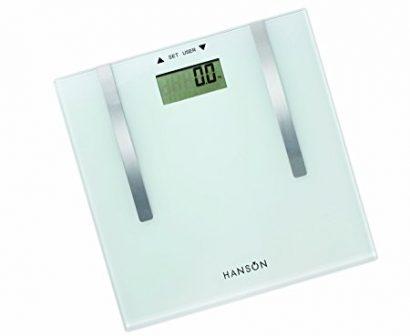 LEEZ Hanson Hfx6169 Body Fat Analyser Electronic Bathroom Scale