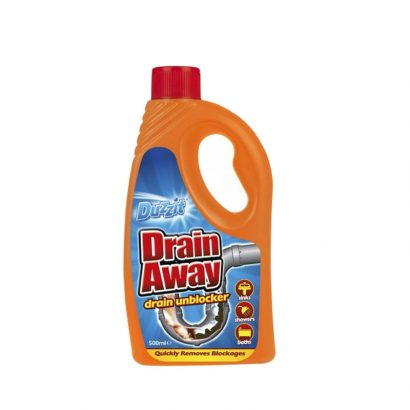 LEEZWORLD Duzzit Drain Away Liquid 500ml
