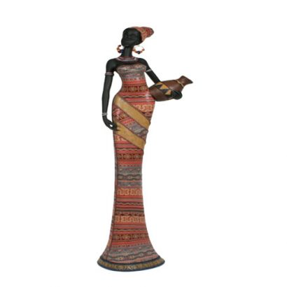 LEEZWORLD African Lady 95cm