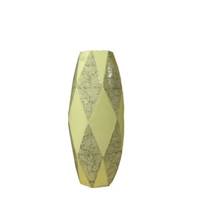 LEEZWORLD Diamond Eggshell Vase