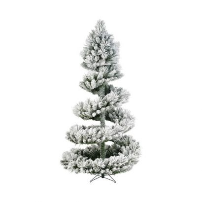 2.1M SNOW SPIRAL 7FT christmas tree